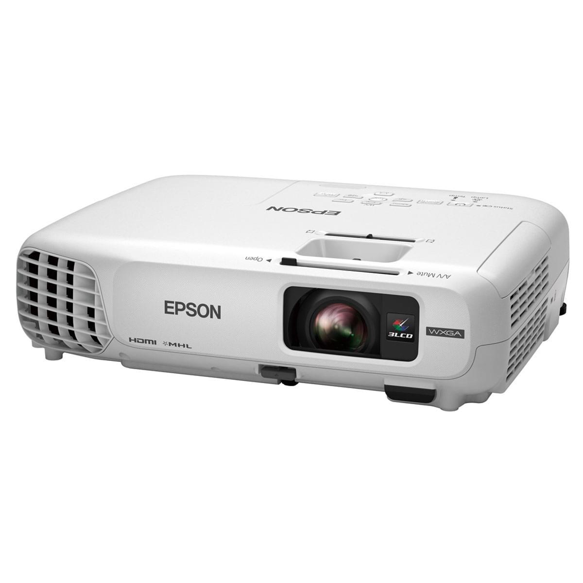 Epson EB-W28 (V11H654040) - Achat / Vente Vidéoprojecteur sur Cybertek.fr - 0