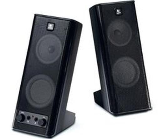 Logitech X140 2HP Noir (970264-0914) - Achat / Vente Enceinte PC sur Cybertek.fr - 0