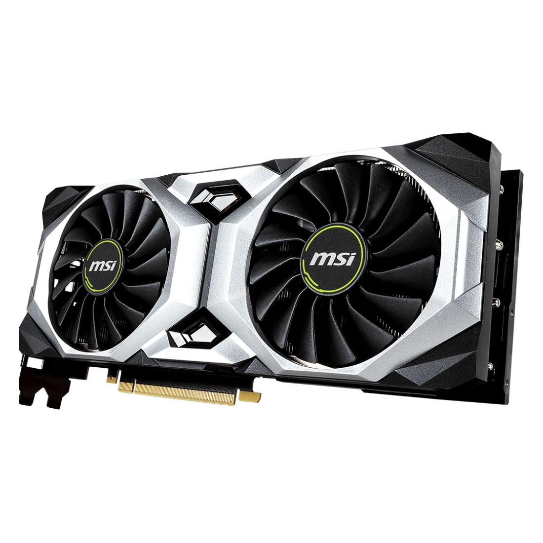 MSI GeForce RTX 2080 VENTUS 8G OC (912-V372-002) - Achat / Vente Carte graphique sur Cybertek.fr - 4
