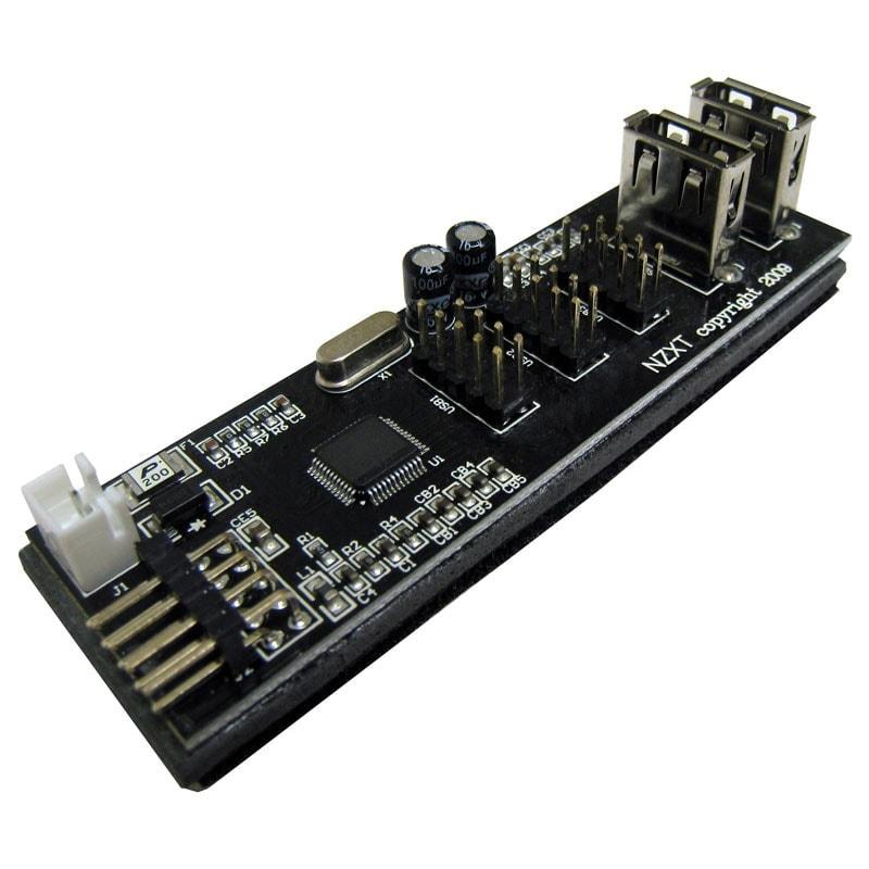 NZXT HUB USB Interne IU01 (IU01) - Achat / Vente Accessoire Boîtier sur Cybertek.fr - 0
