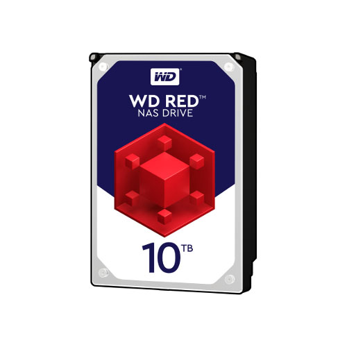 "WD 10To RED SATA III 256Mo WD100EFAX - Disque dur interne 3.5"" - 0"