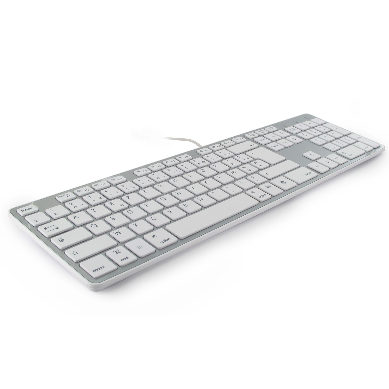 Mobility Lab Design Touch USB Blanc - Clavier PC Mobility Lab - 2