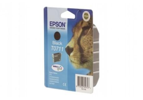 Epson Cartouche T0711 Ultra Noir (C13T07114011) - Achat / Vente Consommable Imprimante sur Cybertek.fr - 0
