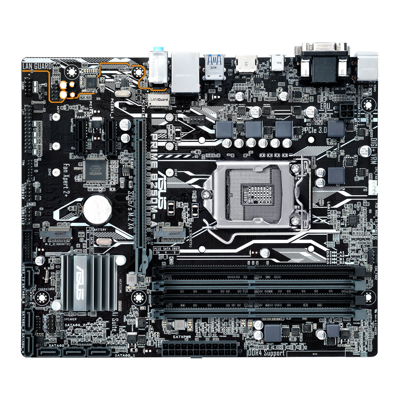 Asus PRIME B250M-A/CSM Micro-ATX DDR4 - Carte mère Asus - 4