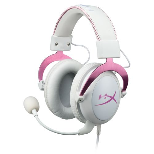 HyperX Cloud II Gaming Headset (Pink) 7.1 Surround - Micro-casque - 0