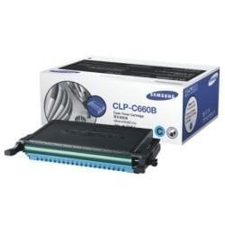 Toner CLP-C660B Cyan 5000p. pour imprimante Laser Samsung - 0