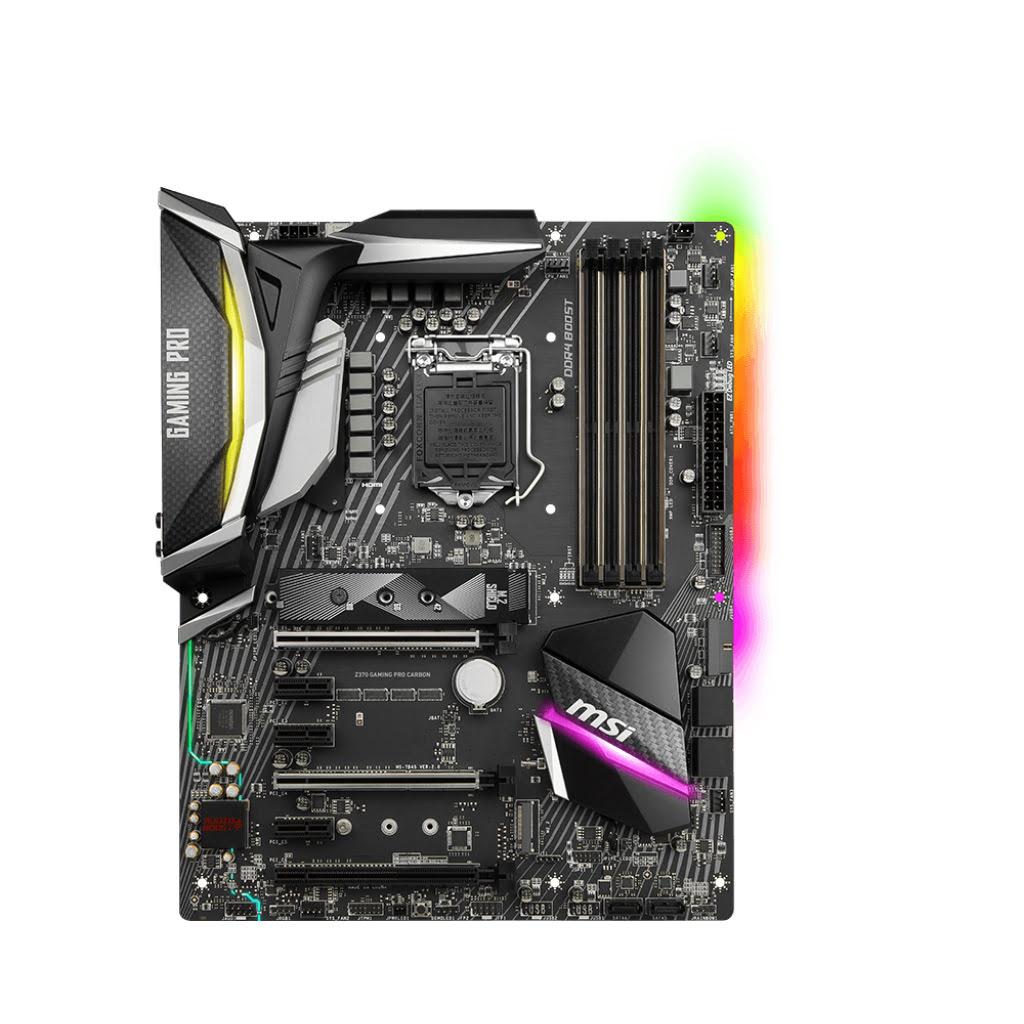 MSI Z370 GAMING PRO CARBON ATX DDR4 - Carte mère MSI - Cybertek.fr - 1