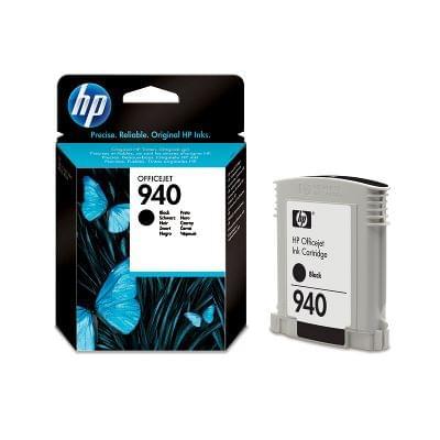 Cartouche N° 940 Noir - C4902AE pour imprimante Jet d'encre HP - 0