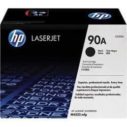 Toner Noir 90A 10000p - CE390A pour imprimante Laser HP - 0
