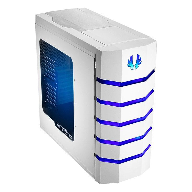 BitFenix Colossus Big-Tower Blue LED White Window - Boîtier PC Acier - Sans Alim - 0