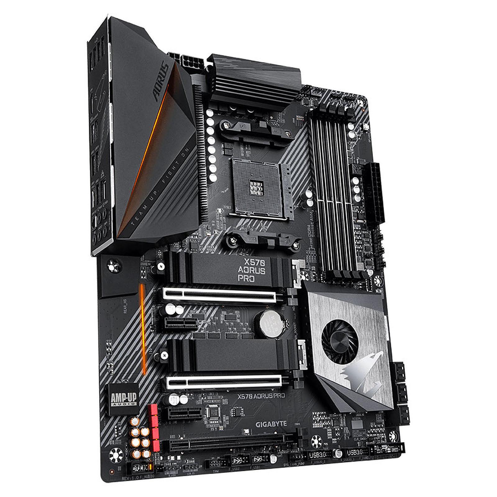Gigabyte X570 AORUS PRO ATX DDR4 - Carte mère Gigabyte - 4