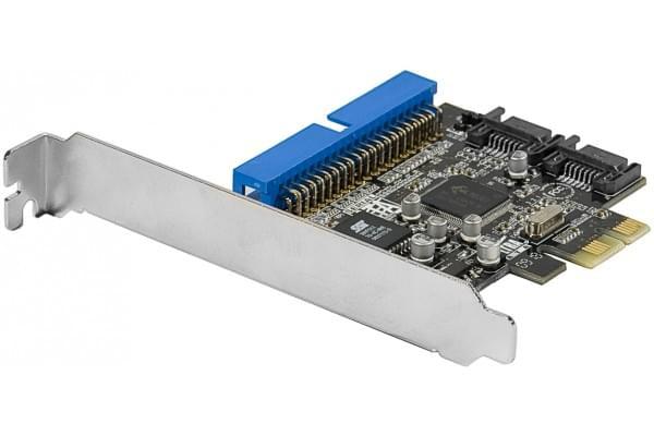 No Name PCI-E 1 ports IDE + 2 ports SATA (306592) - Achat / Vente Carte Controleur sur Cybertek.fr - 0