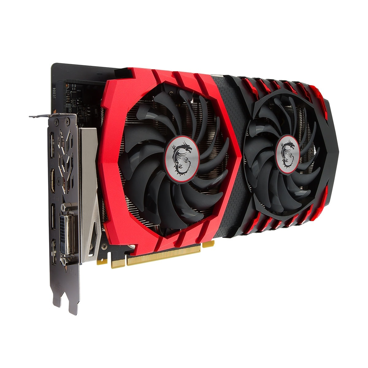 MSI GeForce GTX 1060 GAMING X 6G  (GeForce GTX 1060 GAMING X 6G ) - Achat / Vente Carte Graphique sur Cybertek.fr - 3