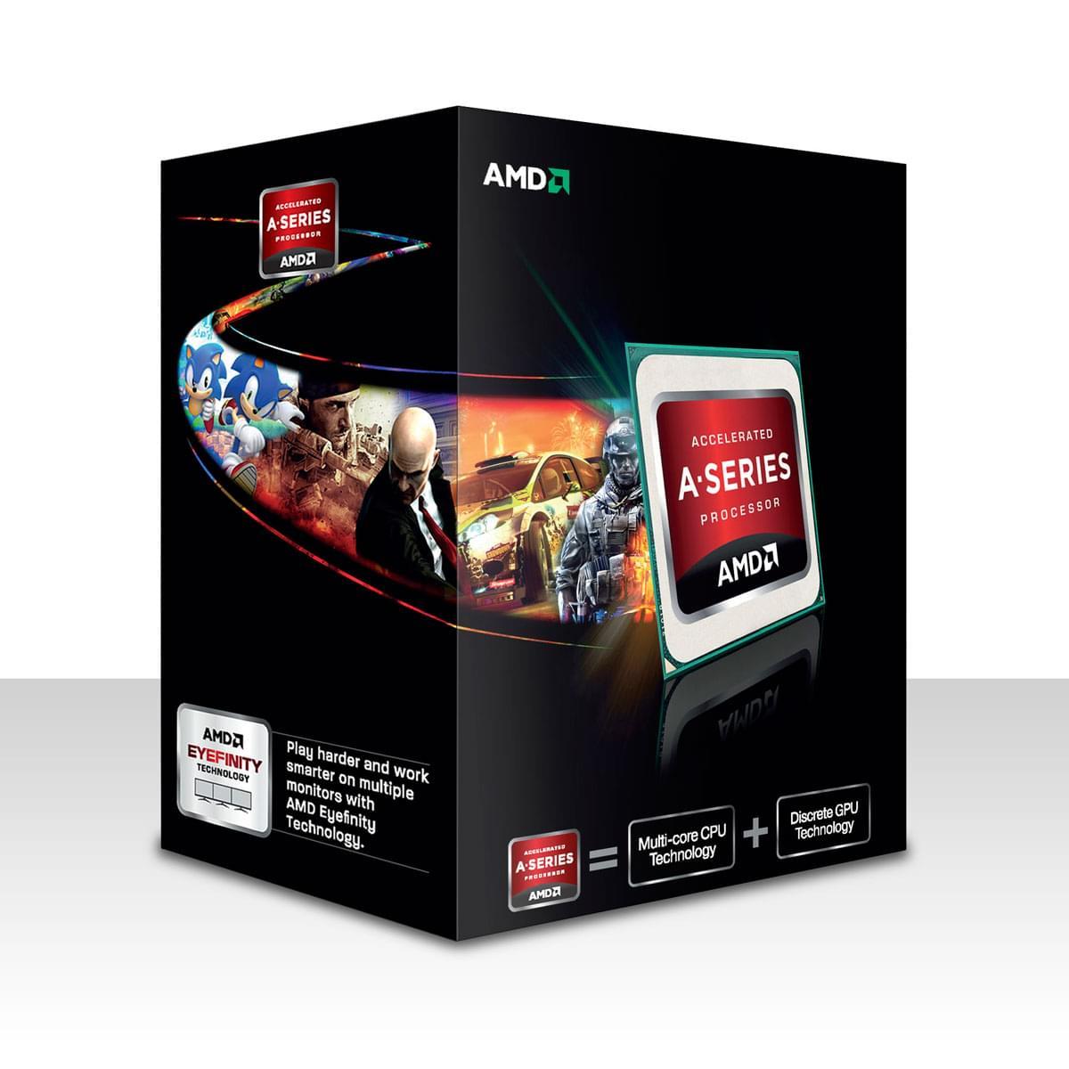 AMD A8-5600K -3.6GHz/4Mo/SKFM2/BOX (AD560KWOHJBOX) - Achat / Vente Processeur sur Cybertek.fr - 0