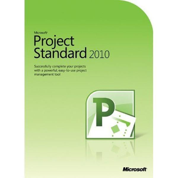 Microsoft Project Standard 2010 (Z9V-00010) - Achat / Vente Logiciel application sur Cybertek.fr - 0