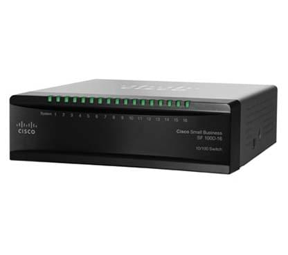 Switch Cisco 16 ports 10/100 - SF100D-16 - Cybertek.fr - 0