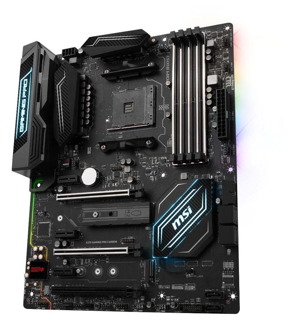 MSI X370 GAMING PRO CARBON ATX DDR4 - Carte mère MSI - Cybertek.fr - 1