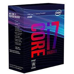 image produit Intel Core i7 8700K - 3.6GHz/12Mo/LGA1151(2017)/Ss Vent. Cybertek