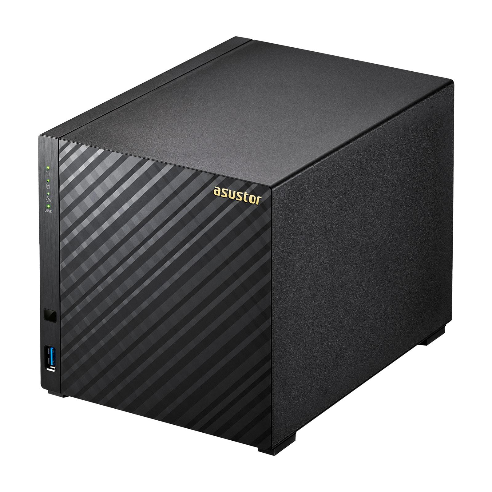 Asustor AS3204T - 4 HDD - Serveur NAS Asustor - Cybertek.fr - 2