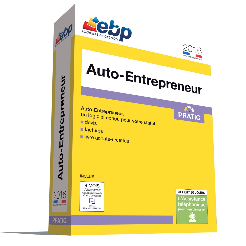EBP Auto-Entrepreneur Pratic 2016 (1008E080FAA) - Achat / Vente Logiciel application sur Cybertek.fr - 0