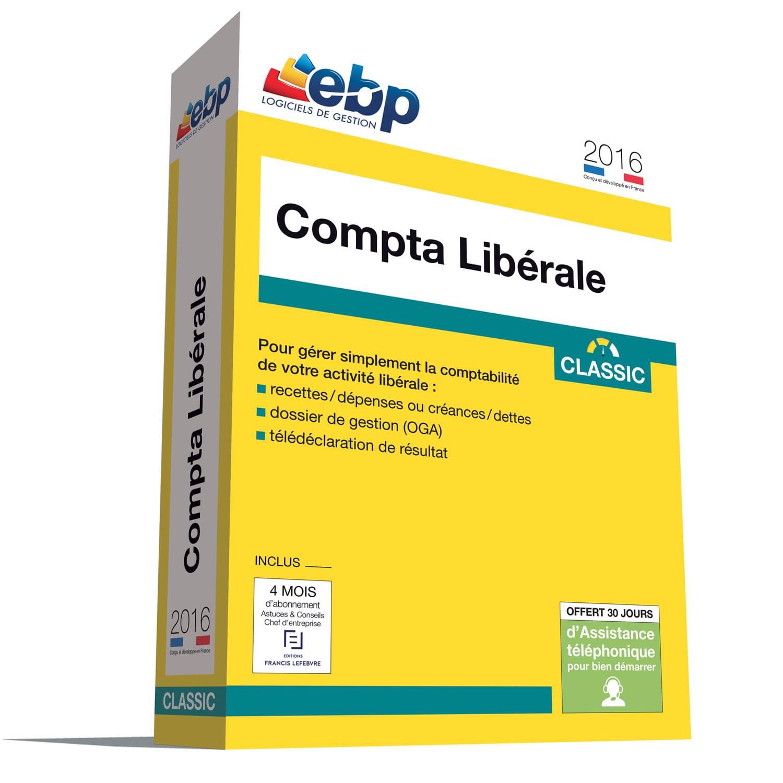 EBP Compta Libérale Classic OL 2016 + ODR 30 € (1061J080FAA) - Achat / Vente Logiciel Application sur Cybertek.fr - 0