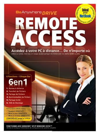 Be Anywhere Remote Acess - Logiciel application - Cybertek.fr - 0