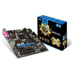 MSI Carte Mère H81M-P32L - H81/LGA1150/DDR3/DB9/DB25/mATX Cybertek
