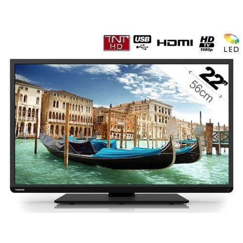 "Toshiba 22L1333G - 22"" (56 cm) LED HDTV 1080p - TV Toshiba - 0"