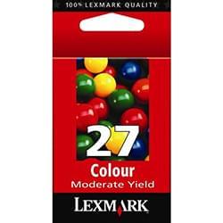 Lexmark Consommable Imprimante Cartouche n°27 couleur (C,M,J) - 10NX227E Cybertek