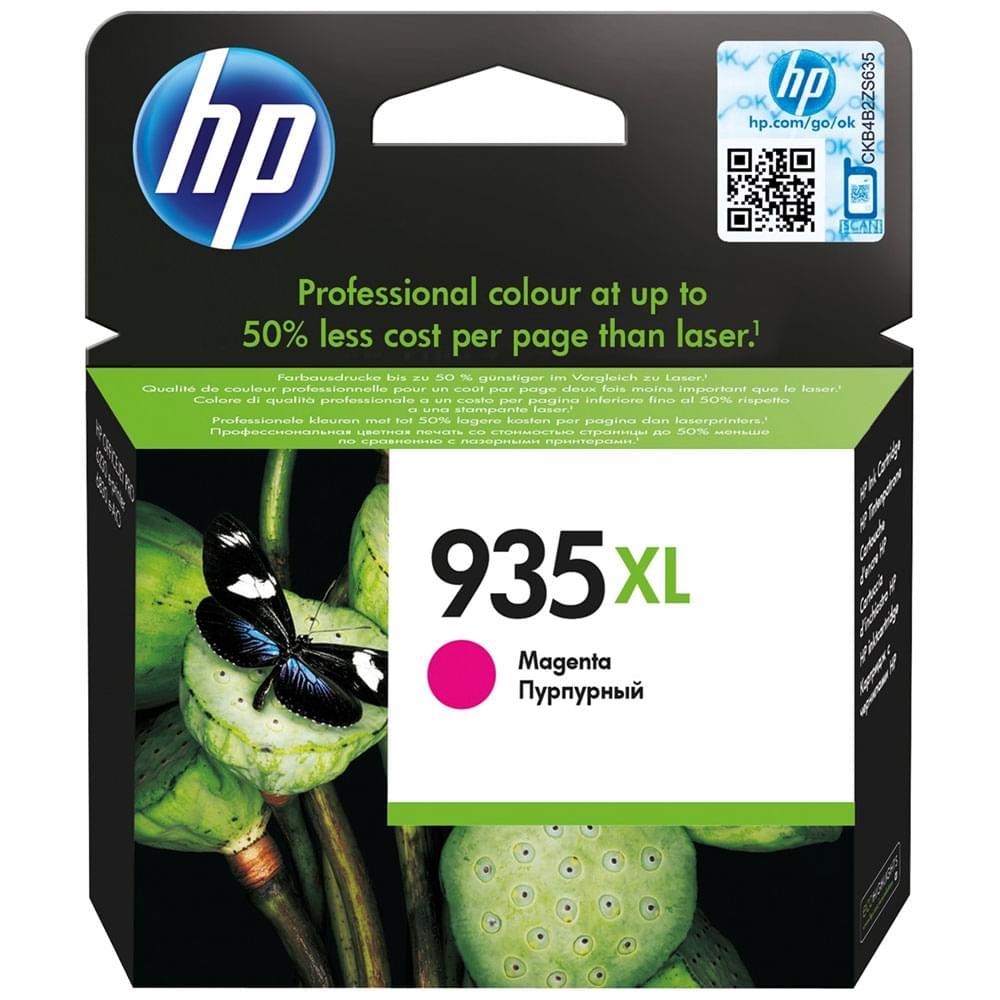 HP Cartouche 935XL Magenta 1000p (C2P25AE) - Achat / Vente Consommable Imprimante sur Cybertek.fr - 0