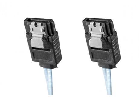 SATA III avec clips de verouillage - 50cm - Nappe générique - 0