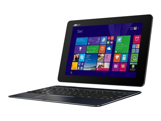 Asus T100HA-FU002T Noir (90NB0748-M02420) - Achat / Vente PC Portable sur Cybertek.fr - 0