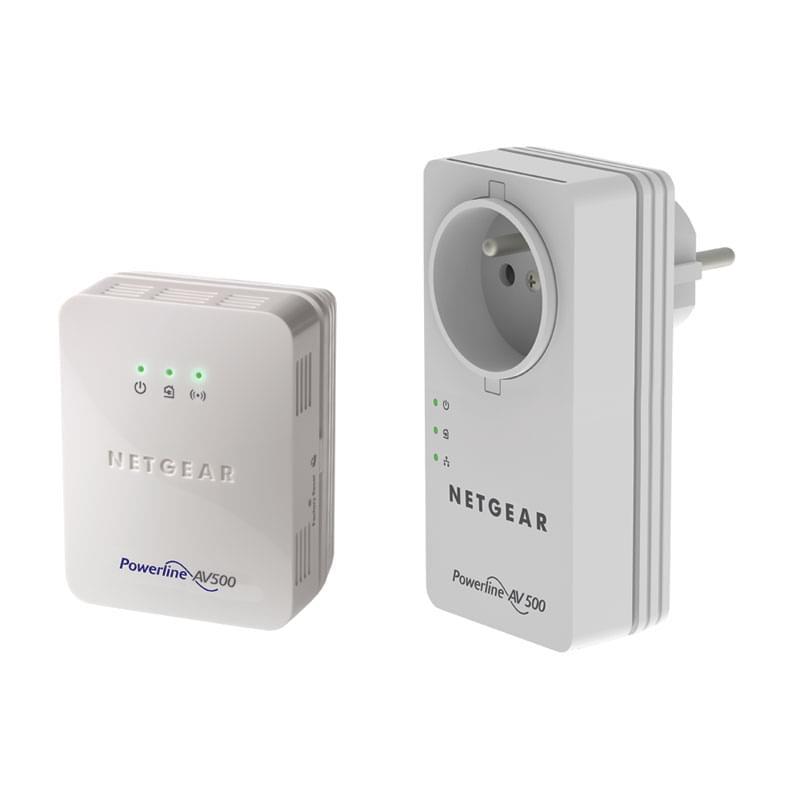 Netgear XWNB5602 (500Mb) avec prise (XWNB5602-100FRS) - Achat / Vente Adaptateur CPL sur Cybertek.fr - 0