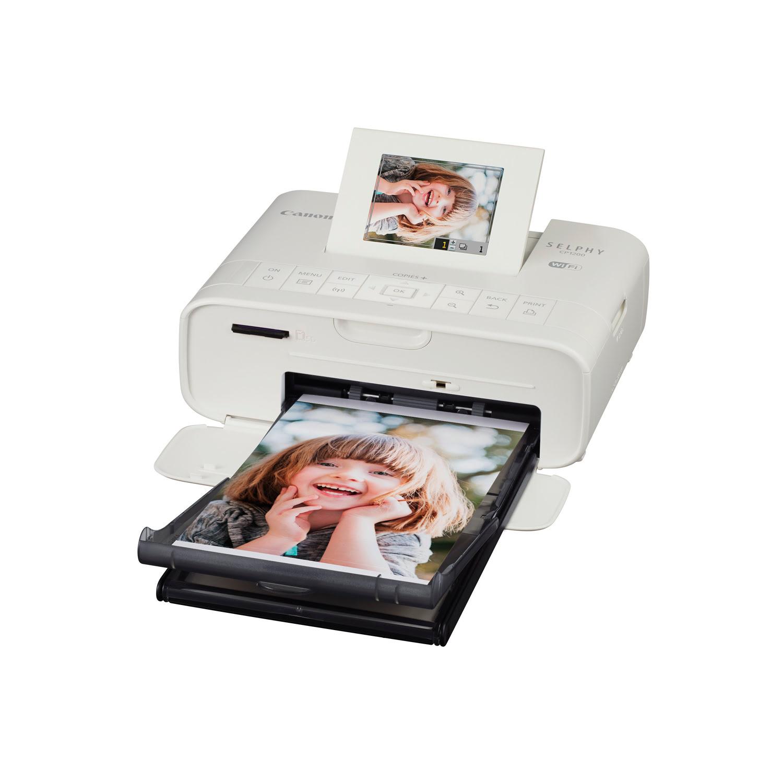 Imprimante Canon SELPHY CP1200 Blanche - Cybertek.fr - 3