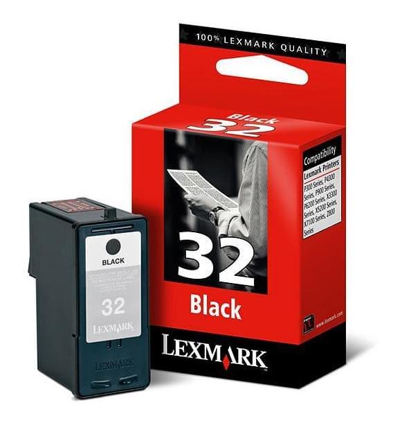 Lexmark Cartouche Noire n°32 (18CX032E) - Achat / Vente Consommable Imprimante sur Cybertek.fr - 0
