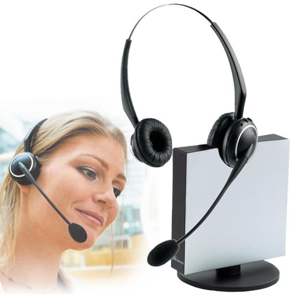 Jabra Casque GN9120 DECT Flexboom DUO NC (9129-808-101) - Achat / Vente Accessoire Téléphonie sur Cybertek.fr - 0