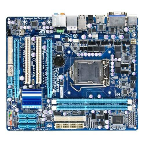 Gigabyte H55M-D2H (H55M-D2H) - Achat / Vente Carte Mère sur Cybertek.fr - 0