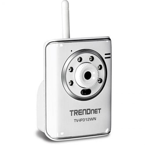 TrendNet TV-IP312Wn (caméra IP Wifi Jour/Nuit) (TV-IP312WN) - Achat / Vente Caméra / Webcam sur Cybertek.fr - 0