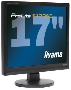 Iiyama PLE1706S-B1 (PLE1706S-B1) - Achat / Vente Ecran PC sur Cybertek.fr - 0