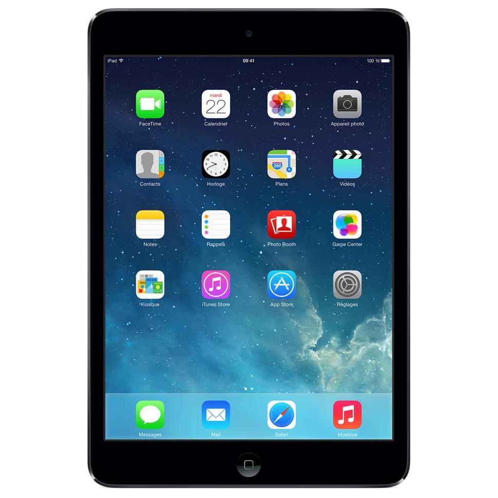 Apple iPad Mini 16Go WiFi Gris Sidéral (Noir) (MF432NF/A) - Achat / Vente Tablette tactile sur Cybertek.fr - 0