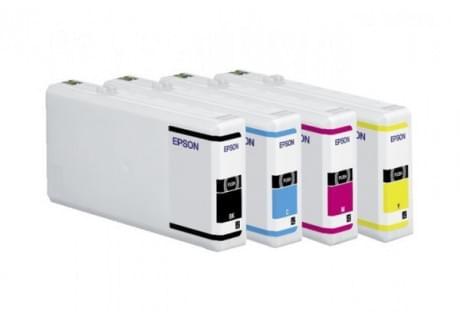 Epson Cartouche T7034 Jaune (C13T70344010) - Achat / Vente Consommable imprimante sur Cybertek.fr - 0