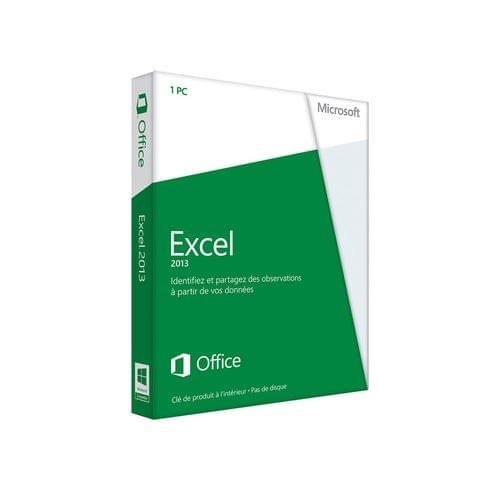 Microsoft Excel 2013 Boite (065-07519) - Achat / Vente Logiciel application sur Cybertek.fr - 0