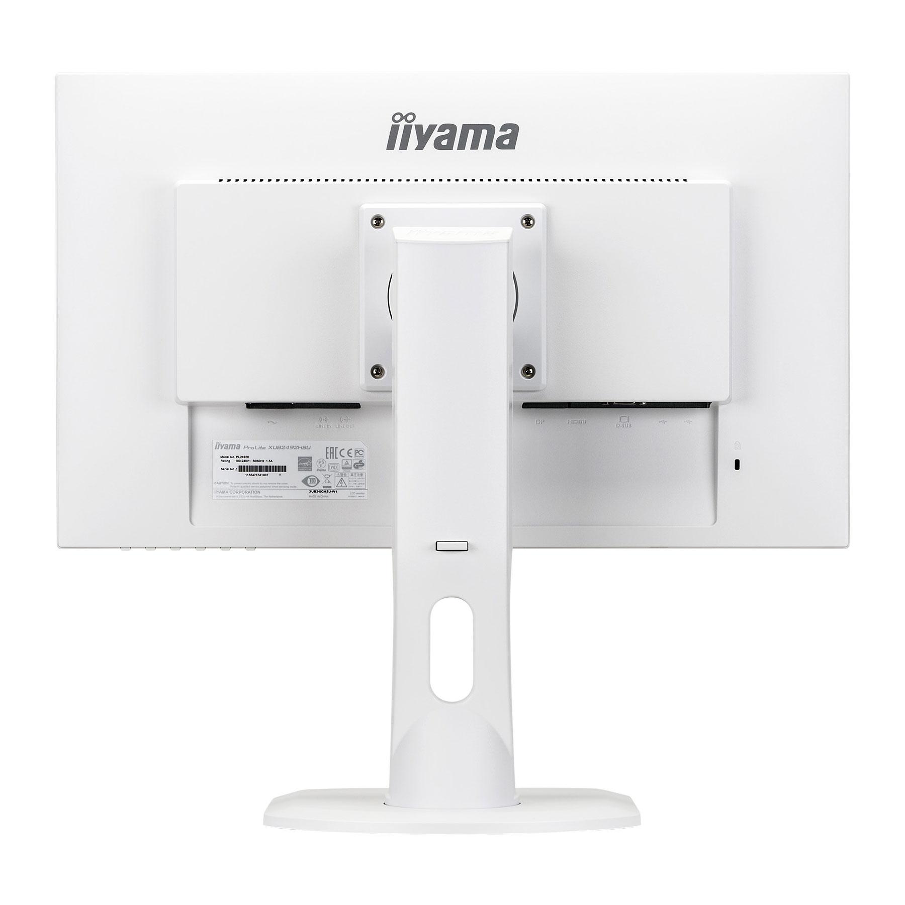 """Iiyama 24""""  XUB2492HSU-W1 - Ecran PC Iiyama - Cybertek.fr - 4"""
