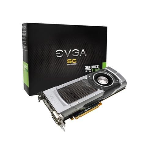 EVGA GF GTX TITAN SC 6GB 2791-KR (06G-P4-2791-KR) - Achat / Vente Carte Graphique sur Cybertek.fr - 0