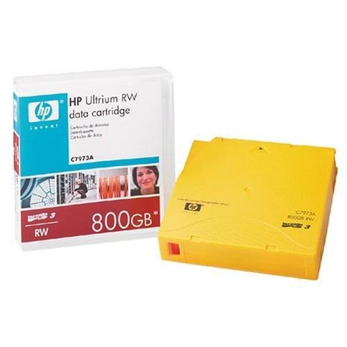 HP Cartouche LTO Ultrium 3 400/800Go (C7973A) (C7973A) - Achat / Vente Consommable Stockage sur Cybertek.fr - 0