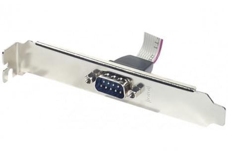 Equerre Connecteur DB9 + cordon pour HE10 - Connectique PC - 0