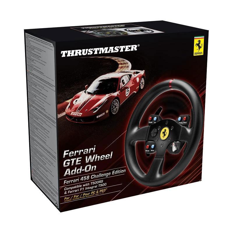 ThrustMaster Ferrari GTE F458 Wheel Add-On - Périphérique de jeu - 1