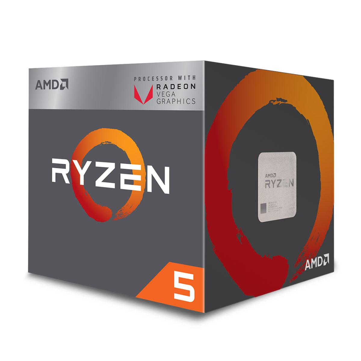 AMD Ryzen 5 2400G - 3.9GHz - Processeur AMD - Cybertek.fr - 1