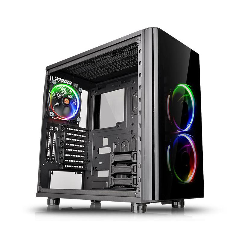 Thermaltake View 31 Tempered Glass RGB Noir - Boîtier PC - 0