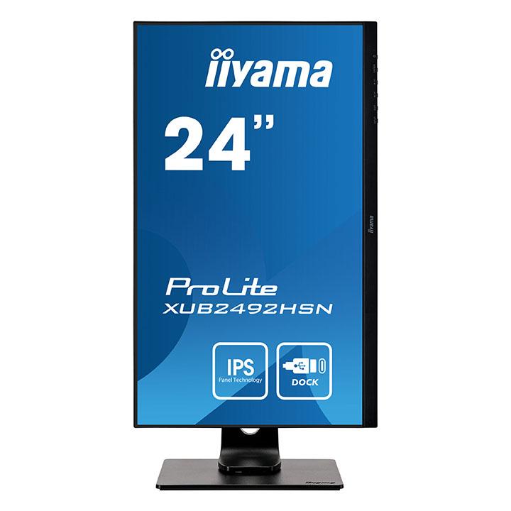 """Iiyama 24""""  XUB2492HSN-B1 - Ecran PC Iiyama - Cybertek.fr - 4"""
